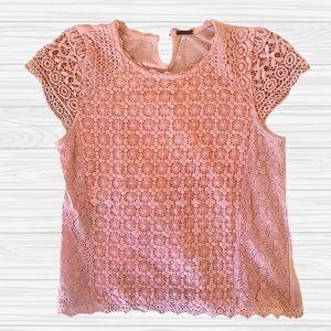Crochet Pink Top